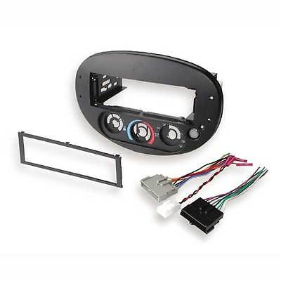 BKFD1360B 97-03 Ford Escort CD Player Dash Kit Climate Control and Harness