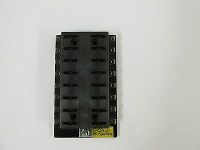 MOD Bussmann 15600-16-20 16 Position ATC Fuse Panel Block RV Trailer Boat Solar