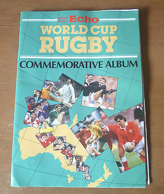 1987 - World Cup Rugby Commemorative Album.
