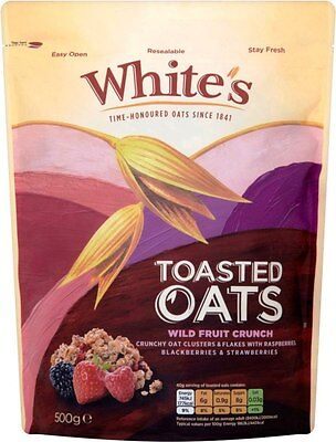 White's Toasted Oats Wild Fruit Crunch (1x500g)