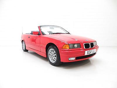 An Exceptional BMW E36 318i Convertible with Just 35,167 and One Owner.
