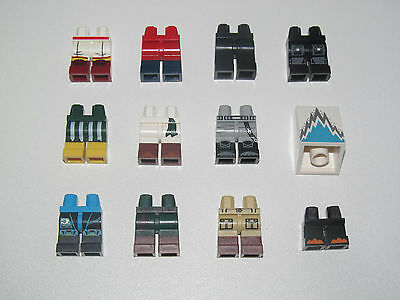 Lego ® Minifig Paire Jambes Personnage Legs 71013 Serie 16 Choose Model NEW