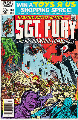 SGT. FURY & His Howling Commandos #160-164, 167  (lot of 6)