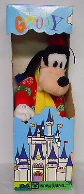 VINTAGE! 1980's Applause Woodward & Lothrop Exclusive Stuffed Holiday Goofy