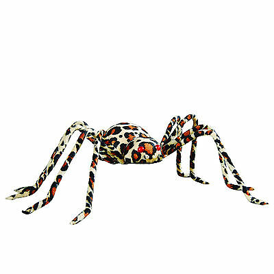 """68557 Large 11"""" Leopard Spider Halloween Party Ornament Decoration Bizarre Scary"""