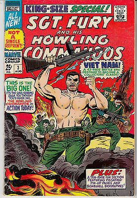 SGT. FURY & His Howling Commandos #3 KING SIZE ANNUAL (1967)