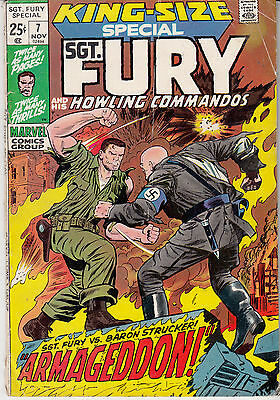 SGT. FURY & His Howling Commandos #7 KING SIZE ANNUAL SPECIAL (1971)