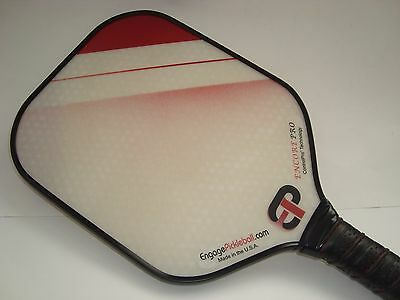 NEW ENGAGE ENCORE Pro PICKLEBALL PADDLE ENHANCED FEEL LARGER SWEET SPOT RED