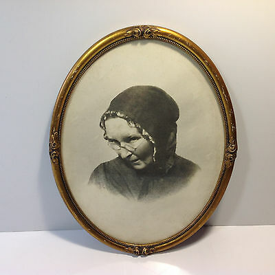 Antique Photo Frame with Photo