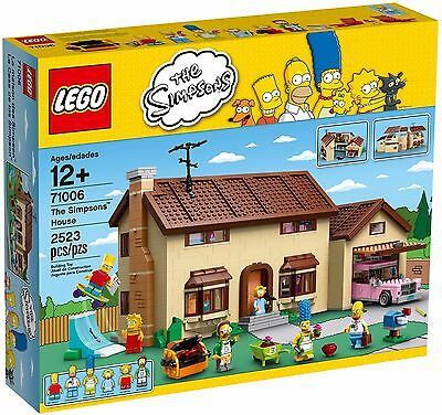 LEGO 71006 The Simpsons House - Brand New Sealed