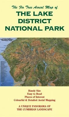 Map Of The Lake District National Park.  Lake District Folded Map