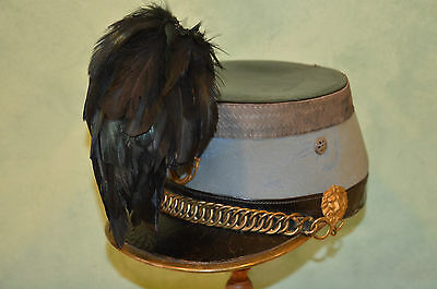 Shako Chasseur A Cheval M.1874 Officier Cavalerie 1914-French Shako Cavalry 1°Ww