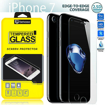 9H Premium Real Tempered Glass Film Screen Protector fr Apple iPhone 7 Plus