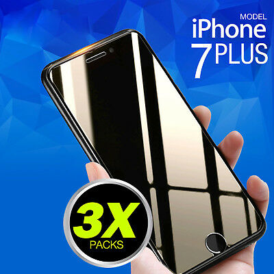 3 X Tempered Glass Screen Protector Film for Apple iPhone 7 8 Plus