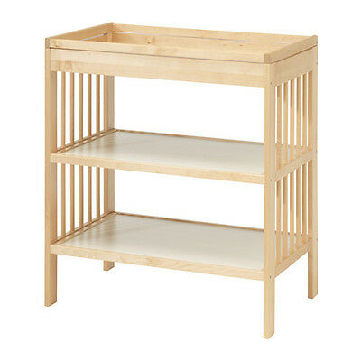 COMFORTABLE HEIGHT Changing table GULLIVER available in 2 colours