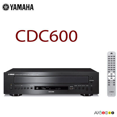 Yamah CDC-600 5-Disc Hi-Fi CD Changer/Player w/ patented PlayXchange. Authorized