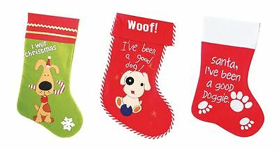 Pet Christmas Stockings  Dogs