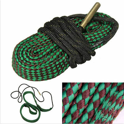 Hot Bore Rope Cleaning Snake 22 Cal 5.56mm 223 Calibre Rifle Barrel Cleaner W