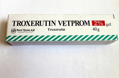 TROXERUTIN troxevasin Varicose Veins Spider .Thread Veins 2% GEL 40 gr