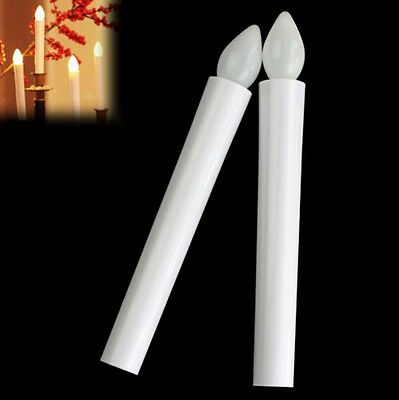 Tealights Newly Flickering Candles Battery Long Tea Light LED Flameless New