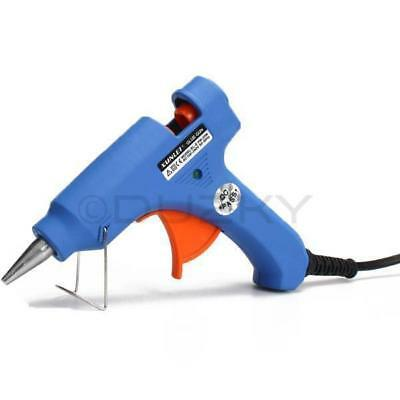Hot Melt Glue Gun Trigger Electric Adhesive Sticks For Hobby Craft Mini Diy New