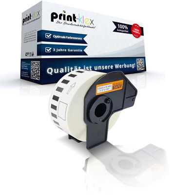 Endlos Etiketten Rolle für Brother P Touch QL 570 DK-22214 3 - Color Print Serie