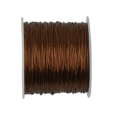 Brown Elastic Crystal Stretchy Strong Bead Bracelet Thread Cord String
