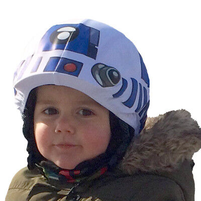 StarWars R2D2 or Yoda helmet covers for skiing,snowboarding,scootering