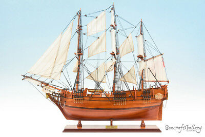 NEW HMS BOUNTY WOODEN MODEL TALL SHIP BOAT GIFT DECORATION 75cm