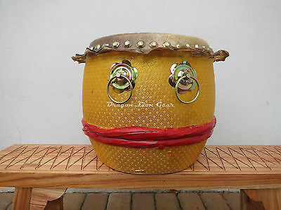 """16"""" Chinese Kung Fu / Southern Lion Dance Drum"""