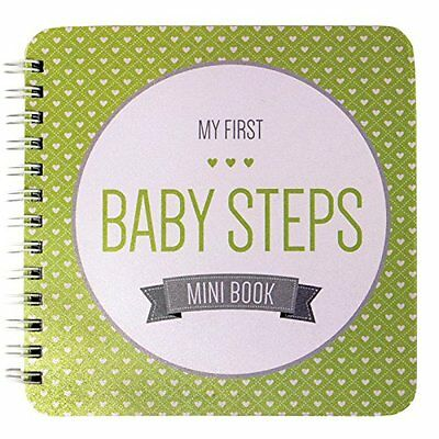 baby memory book first year new years s keepsake 5 boy record girl album gibson
