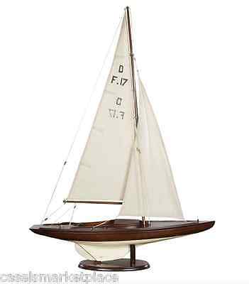 AUTHENTIC MODELS Dragon Olympic Sail Racer Marine Nautical Yacht / Sailboat