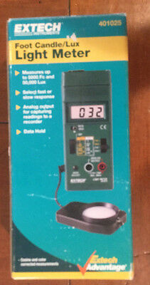 Extech Instruments Light Meter 401025. used, In Box, original packaging