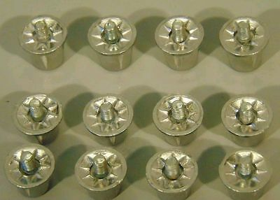 12 Replacement Aluminium Football Boots Studs 8 x 13mm and 4 x 16mm Rugby Soccer