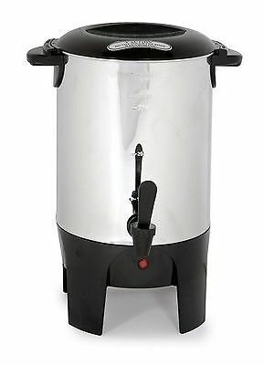 Stainless Steel 30-cup Coffee Urn/Maker or Tea/Hotwater NEW