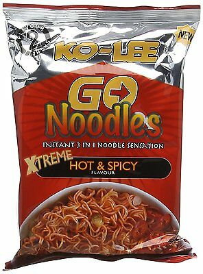 Ko-lee Go Instant Noodles X Treme Hot And Spicy Flavour 85 G (Pack Of 24) NEW