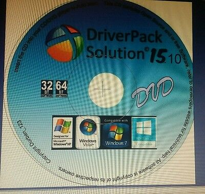 Driver Pack Solution 2015.10 Win 10, 8 , 7, XP Update w Majority Latest Drivers