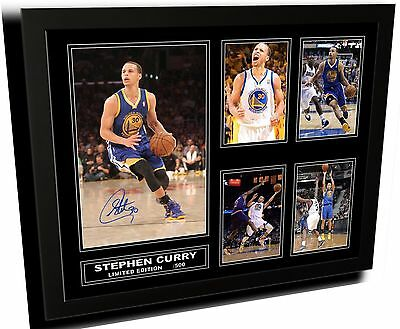 Stephen Curry Signed Limited Edition Framed Memorabilia