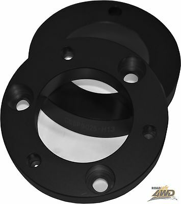 MRC Roadsafe 25mm Coil strut spacers lifts 37mm Toyota Prado 90 Series