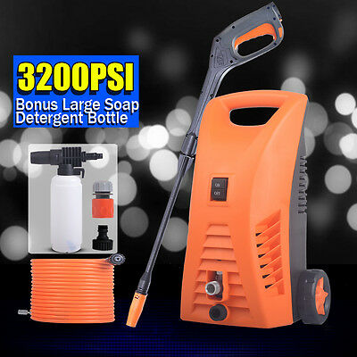 3200 PSI High Pressure Water Cleaner Electric Washer Pump Spray Gun Hose Nozzle