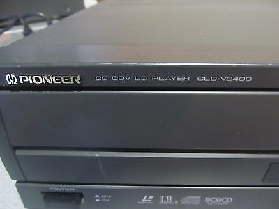OEM Pioneer CLD-V2400 CD CDV LD Player LaserDisc With 5 disc