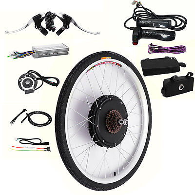 Ebike Conversion Electric Bicycle Kit 48V 1000W Motor Controller for Rear Wheel