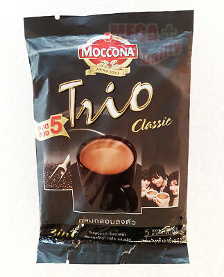Moccona Trio Instant Coffee Mix Powder 3 In 1 Original