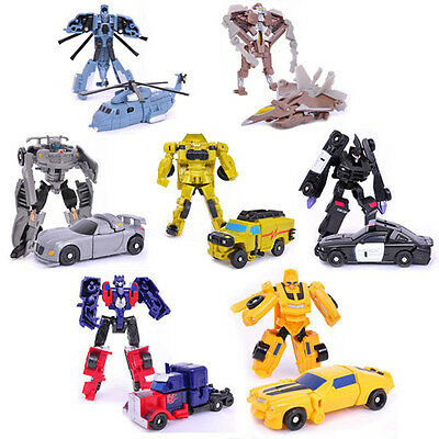 Transformation Toy Transformer Robot and Cars Toys Christmas Kids Child Gifts UK