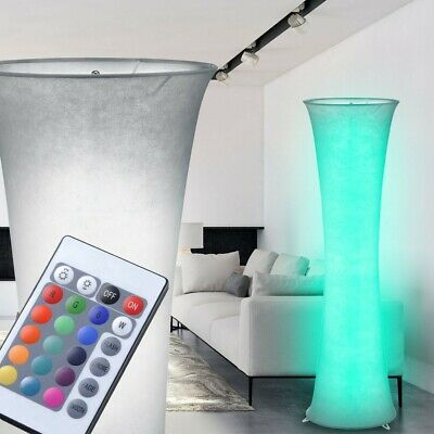 RGB LED Floor Lamp hall dining room lighting color changing dimmable modern