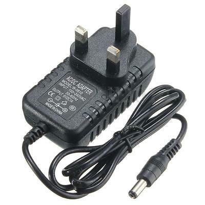 AC100-240V Charger Adapter DC 6V 1A Switching Power Supply 500mA UK Plug 50/60Hz