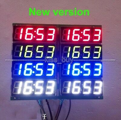 """0.56"""" 4 bits Digital LED Display Electronic Clock Thermometer DS1302 Arduino Uhr"""