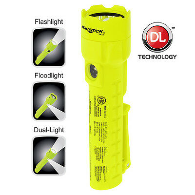 Nightstick Intrinsically Safe XPP-5422G IECEx Dual Light Torch