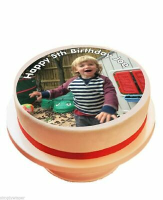 Your Own Personalised Edible Photo / Picture Sugar Icing Cake Topper Decoration