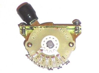Oak Grigsby 4-Way Telecaster Pickup Selector Switch with Tip